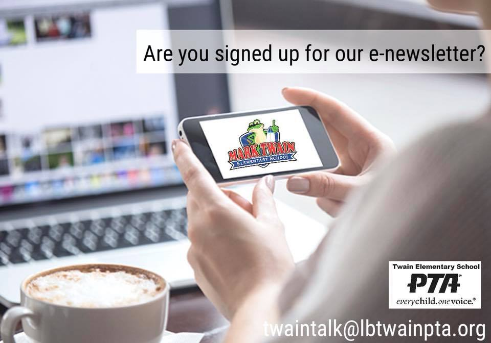 Are You signed up?